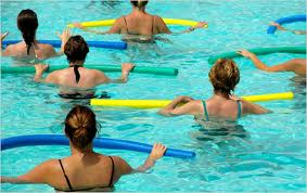 Water exercises are also recommended as a way to combat pain and stiffness