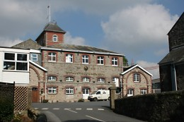 Best Brewery Tours of Cornwall - St Austell Brewery.  St Austell Brewery Building.  Photo by: Tony Atkin