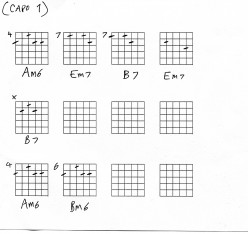 Guitar chords lesson - Leonard Cohen