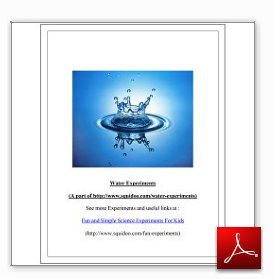 5 Water Experiments Science eBook