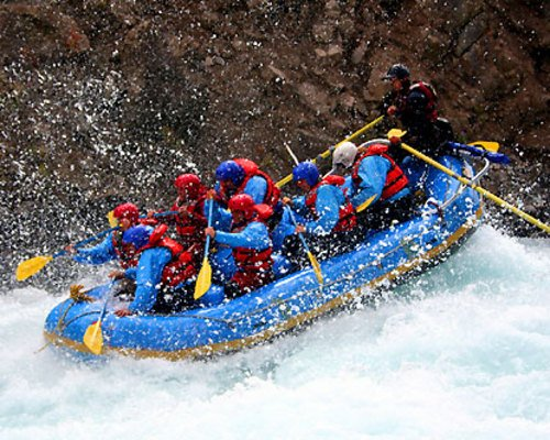 White water rafting in Shivpuri and Rishikesh