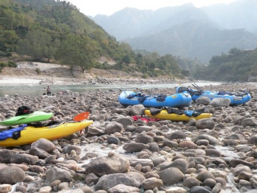 Shivpuri Rafting Area