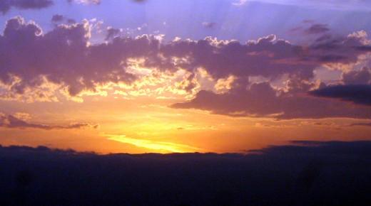 Fabulous sunsets in SE Kansas