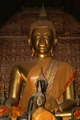 The Buddha in the main building