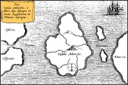 The traditional view of Atlantis is that it is located in the Atlantic and there is some evidence to support this.
