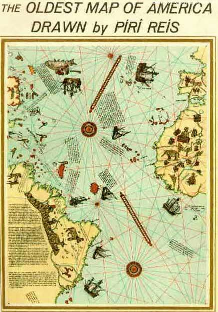 "Then there is the controversy of the Piri Reiss maps that predate anything from the ""modern"" era. In fact, it is thought that Christopher Columbus sought out such maps to aid his passage to the east via a western route."
