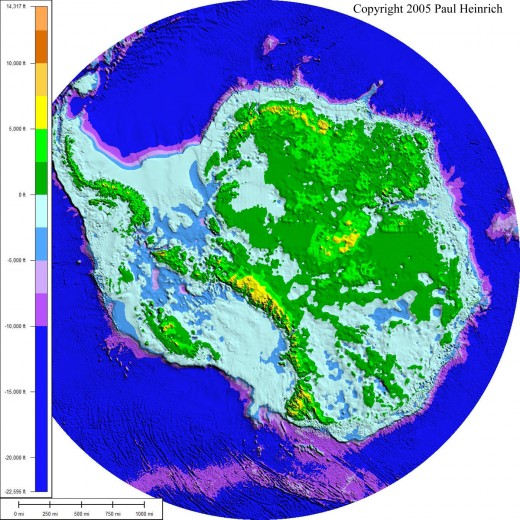 """One of the Piri Reiss maps features Antarctica without ice, something that we have only been able to duplicate recently. Charles Hapgood deals with this subject in his book """"Maps of the Ancient Sea Kings""""."""