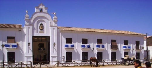 El Rocio is normally a small quiet village