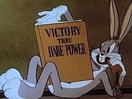 Bugs Bunny 1, anime 0.