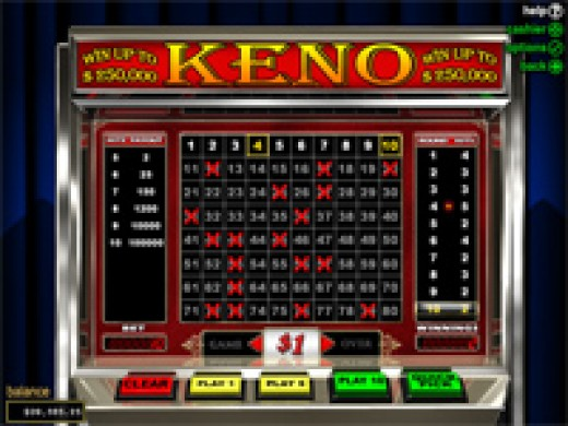 keno tricks to win