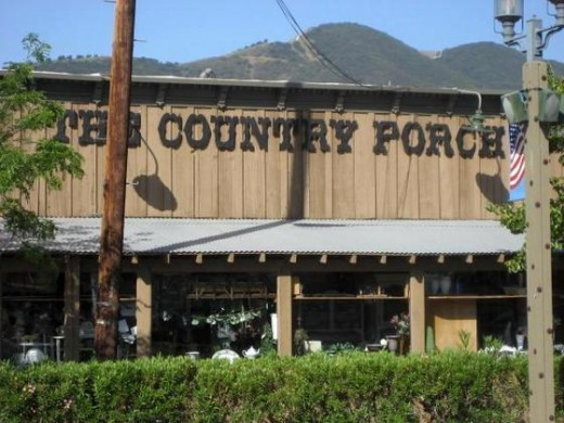 Charming and filled with treasures, The Country Porch in Old Town Temecula is a great place to find that hard to find item.