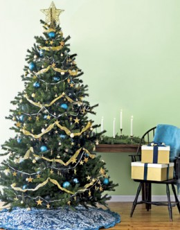 An artificial tree can look just like the real thing!