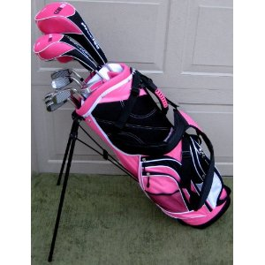 "Ladies Complete Golf Clubs Set 2011- Add a little ""Style"" to your game!"