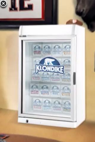 Klondike Freezer Loaded With Ice Cream Sandwiches
