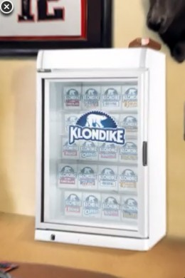 Klondike Freezer Loaded With Ice Cream Sandwiches