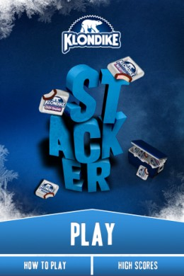 Klondike Stacker iPhone Application Downloaded from Ad