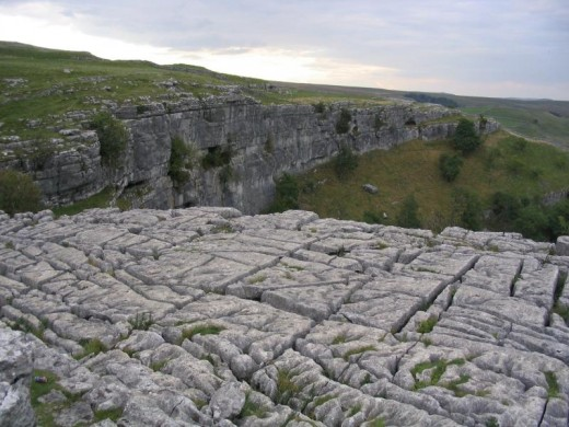 Limestone pavements are a protected habitat. Photograph courtesy of Lupin, Wiki commons attribution share alike
