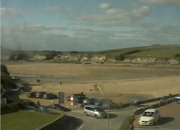 Cam 2: Porth Beach car park webcam