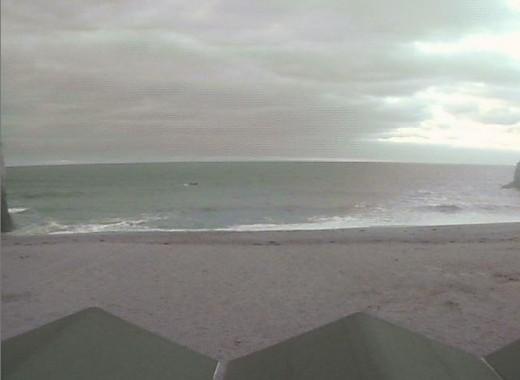 Lusty Glaze Surf Webcam, surf view