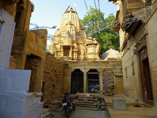 An old temple in Jaisalmer