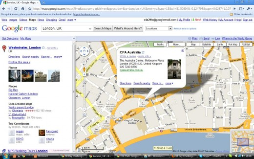 Google Maps Inforwindow for Location Marker