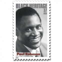 Paul Robeson, An Amazing American, Sings