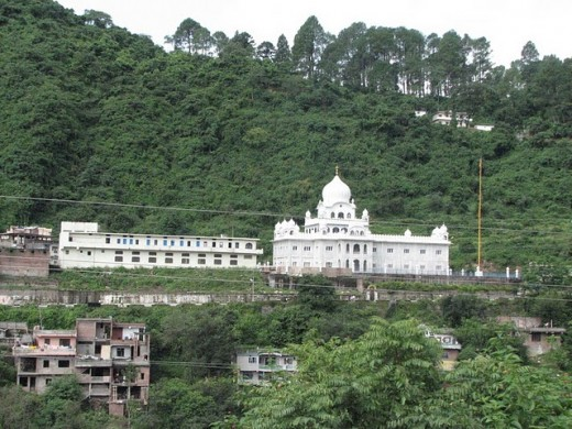 A gurudwara in Palampur near Himachal Pradesh
