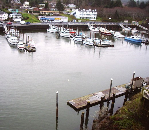 Depoe Bay Harbor