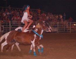 Benson Mule Days Rodeo Benson Nc Pictures From The Rodeo Trick Riding