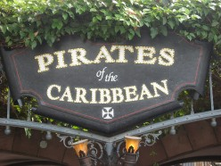 Pirates of the Caribbean, one of my very favorites