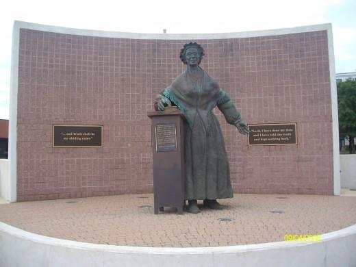 Her memorial