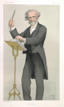Giussepe Verdi, 1879 portrait in Vanity Fair