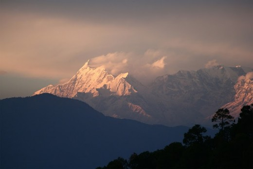 Best shot of Mountain Ranges from Kausani