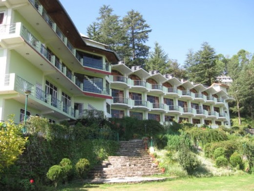 Pic of a hotel we shot at Kausani