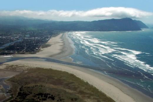 aerial view of Seaside