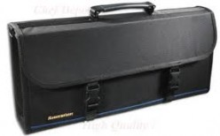Portable Storage containers such as a knife case or knife roll provide the ideal portable storage place.