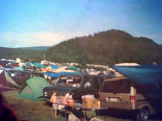 I attended Creation Festival 1994 in Mount Union, Pennsylvania, USA.