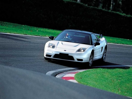 Honda NSX-R on Track