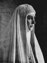 Elizabeth as a nun.