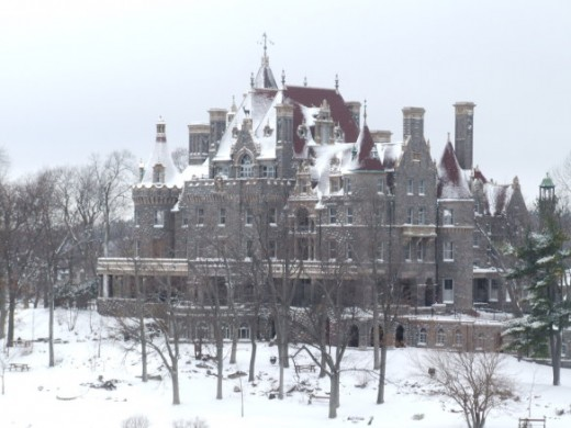 The Boldt Castle -in its grandeur (IAA)