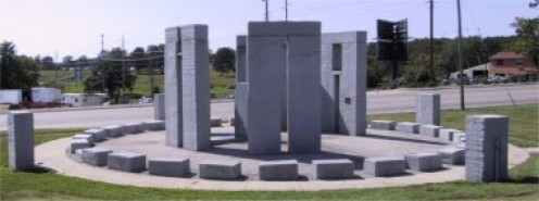 Stonehenge on the U of M at Rolla.