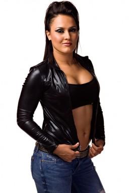 TNA Knockout Alissa Flash aka Raisha Saeed aka Cheerleader Melissa