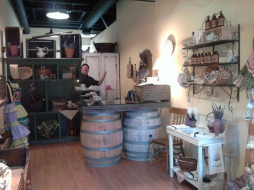Feel the healing power of the herb Lavender as you shop in Old Town Temecula.