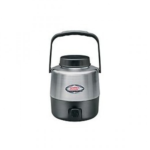 Coleman 1.3-Gallon Stainless Steel Belted Jug