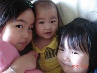 Rachel, Baby Vivian and Ella Wang.   Vivian is now 7 months old.
