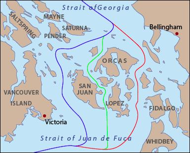 Boundaries of Pig War