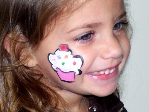 Cheek Face Painting Ideas