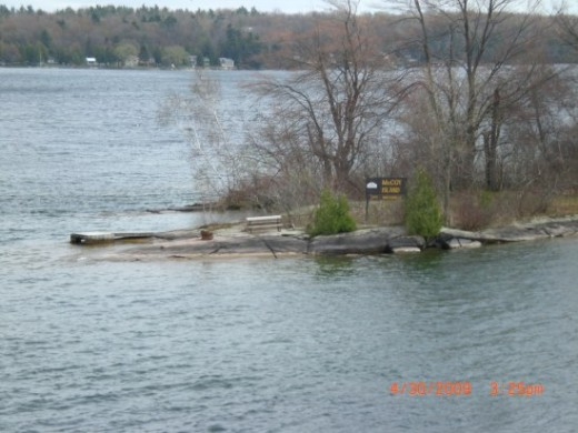 McCOY Island-one of Thousand Islands (Photo courtesy of Electrician Arezza)