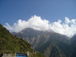 Clicking beauty on our way to Harshil in Uttaranchal