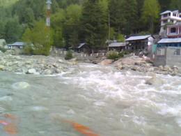 Ganga river near Harsil